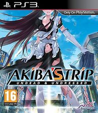 Akiba's Trip: Undead & Undressed (PS3) - BRAND NEW & SEALED UK