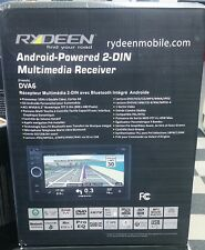 "Rydeen DVA6 6.2"" Double DIN DVD CD GPS MP3 Android USB Aux Bluetooth Navigation"