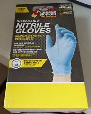 Grease Monkey Disposable Nitrile Gloves - 25 Pairs