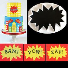1pc WOW Plastic Fondant Cutter Cake Mold Fondant Cupcake Decorating Tools