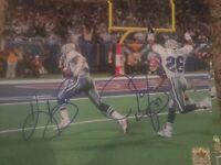 Kevin Smith James Washington Dallas Autographed Cowboys 8x10 Photo Gdst Holo