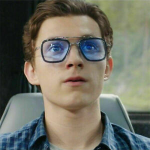 Spider-Man Far From Home Tony Iron Man Sunglasses Peter Spider-Man Edith Glasses