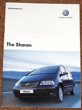 2005-06 VW SHARAN Sales Brochure - Carat Sport SE S 4MOTION