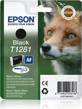 2x Epson Ink Cartridge encre pour stylus s22/sx125, noir