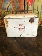 VINTAGE CANADA DRY A4 COOLER COCA COLA COKE 7UP PEPSI DR PEPPER ORANGE CRUSH