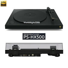 SONY PS-HX500 Turntable with High-Resolution recording Free Voltage Built-in USB