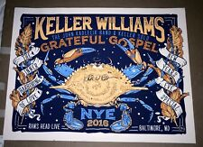 """Signed"" Keller Williams-Grateful Gospel-Rams Head Live in MD.12/31/2016 - N.Y.E"