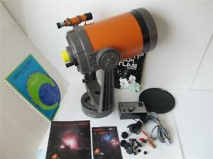 Vintage Celestron 8 Telescope w/Drive Module, Manuals, Case *****
