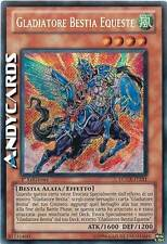 Gladiatore Bestia Equeste ☻ Segreta ☻ LCGX IT251 ☻ YUGIOH ANDYCARDS