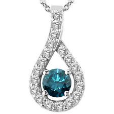 White Gold SI2 0.33 - 0.49 Fine Diamond Necklaces & Pendants