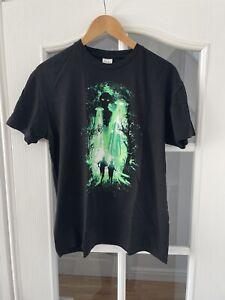 X-Files Graphic T Shirt Loot Crate Exclusive Aliens UFO Black Adult M Medium