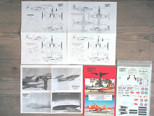 """CT-133 SILVER STAR """"2RCAF/KIWI/RED KNIGHT"""" LEADING EDGE DECALS 1/48"""