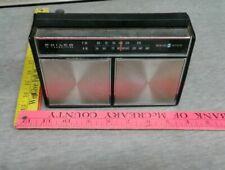 Philip Transistor Solid State FM AM Vintage Radio 403 Tested