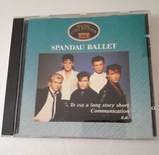 CD musicale Spandau Ballet Music Collection
