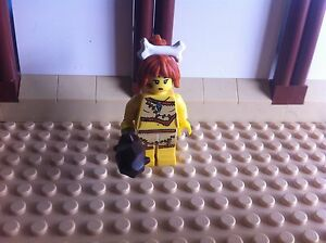 Lego Cave woman Series 5 ( Like New!)