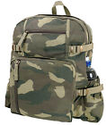Large Vintage Style Backpack Canvas Rucksack Schoolbag Rothco 9262