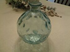 "Decorative Vase 8"" Tall x 6"" Wide Blue"
