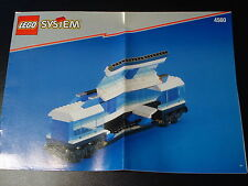 LEGO SYSTEM EISENBAHN - Bauanleitung Waggon aus Eisenbahn Set 4560 - NEU