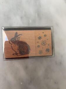 Stampin Kawai Japan Stempel Hase NEU OVP