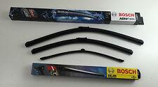 Bosch LIMPIAPARABRISAS set delantero + atrás audi a4 b8 8k5 avant Wiper Blades