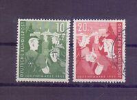 Bund 1953 - Jugendplan - MiNr. 153/154 gestempelt - Michel 45,00 € (456)