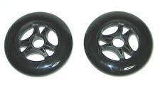 2 Rollen POWERSLIDE INFINITY 110mm 110 mm 85A black/black SPEED RACE INLINER