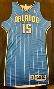 2010-2011 Vince Carter Orlando Magic GAME USED WORN ADIDAS JERSEY SZ 2XL+4 RARE!