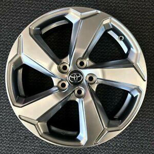 "2019 - 2020 Toyota Rav4 XSE OEM 18"" Silver Wheel Rim Hyper Silver 75242"