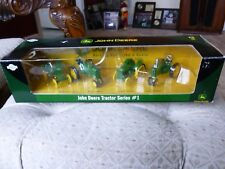 Athearn Trains John Deere Tractor Series #1 Set of 4 Diecast 1:50