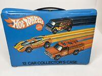 Vintage 1975 Hot Wheels 12 Car Collectors Case, Case Only. Mattel