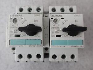 Siemens Leistungsschalter 3RV1421-1JA10, 7-10A+ Siemens IEC/En 60947 VDE 0660