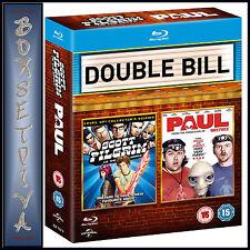 SCOTT PILGRIM VS THE WORLD & PAUL - DOUBLE PACK   *BRAND NEW BLURAY REGION FREE*