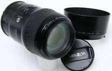 Minolta Maxxum AF 100-300mm f/4.5-5.6 Xi AF Lens w/hood   386741