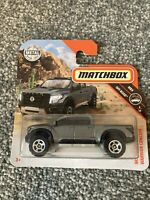 Matchbox Nissan Titan Warrior Concept. New Collectable Toy Model Car. Short Card