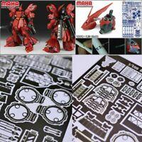 Detail Up Photo Etch Teile für Bandai MG 1:100 Sazabi Ver Ka Gundam Modell Kits