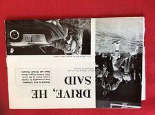 m77a ephemera 1971 film preview drive he said karen black william tepper
