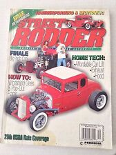 Street Rodder Magazine Big Inch Cadillac & Windshield December 1998  031417NONRH