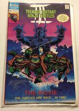 Signed TMNT III The Movie: The Turtles Are Back In Time #1 Archie
