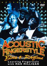 ArtsMagic ACOUSTIC FINGERSTYLE Guitar BLUES & RAGTIME Lessons DVD Max Milligan