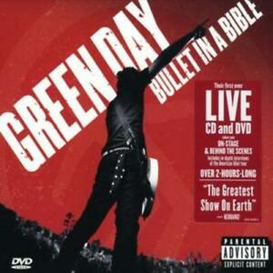 Green Day : Bullet in a Bible CD Album with DVD 2 discs (2005)