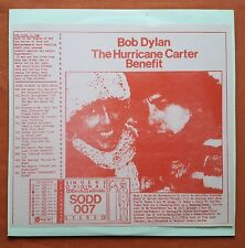 BOB DYLAN-THE HURRICANE CARTER BENEFIT RARE 2LP LIVE IN MSG NEW YORK 1975