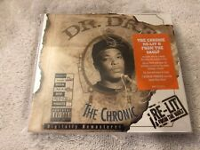 (BRAND NEW) DR DRE THE CHRONIC RE-LIT FROM THE VAULT CD RARE OOP
