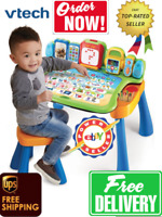 VTech Interactive LED 4 in 1 Touch & Learn Activity Desk SEE VIDEO !!! BEST SELL