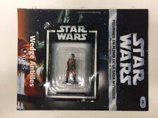 star wars figurine en plomb wedge antilles n35/60 neuve blister fascicule atlas