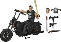 Marvel Legends The Punisher with Motorcycle Bike 6 Inch Action Figure In Stock