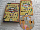 LES SIMS 2 famille Fun stuff ADD-ON PAQUET PC CD-ROM V. G. C.complet