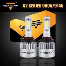 Auxbeam High Beam 9005 HB3 9145 LED Headlight Fog Bulbs Kit 8000LM 6500K White