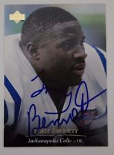 Tony Bennett #130 Wash.Redskins Mississippi Signed 1995 Upper Deck Autograph 15A