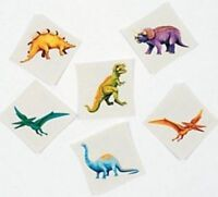 Realistic Dinosaur Temporary Tattoos - Party Bag Fillers - Pack Sizes 6 - 36