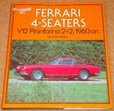 FERRARI 4-SEATERS - David Owen - Osprey AutoHistory hardback book